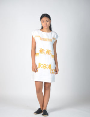 sorai linen dress