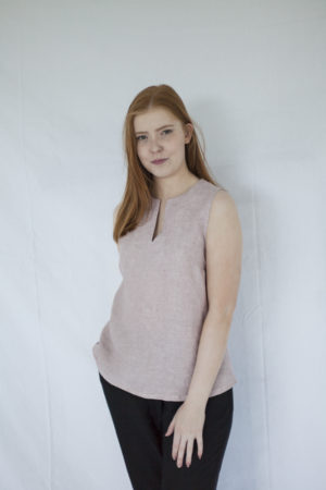 rumar linen top made in finland