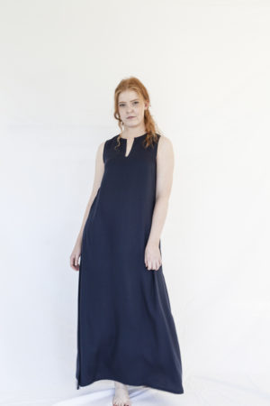 rumar tencel maxi dress made in finland