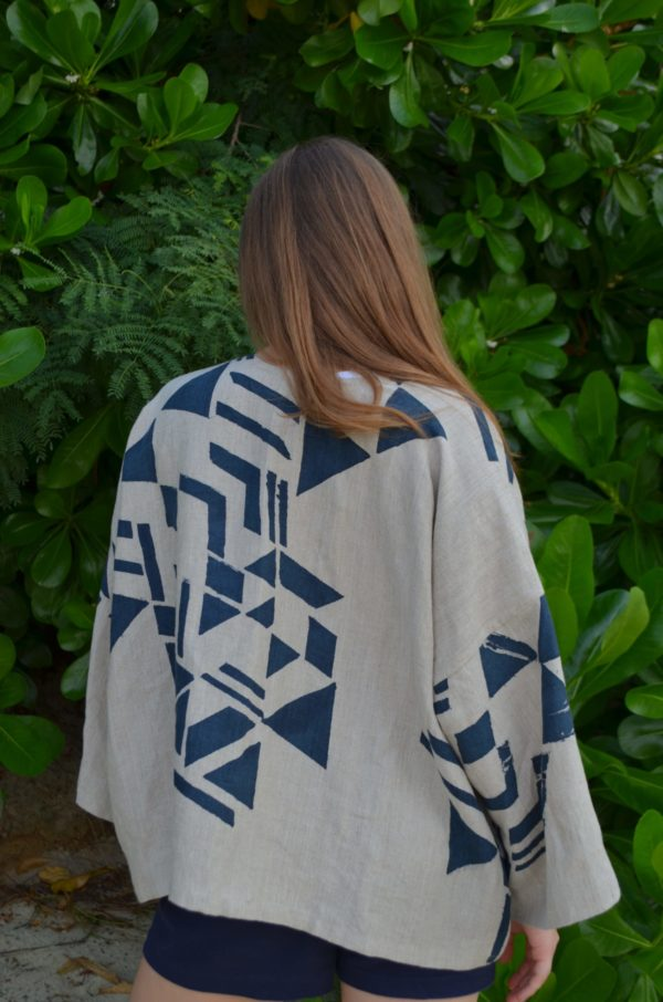 block robe printed in singapore