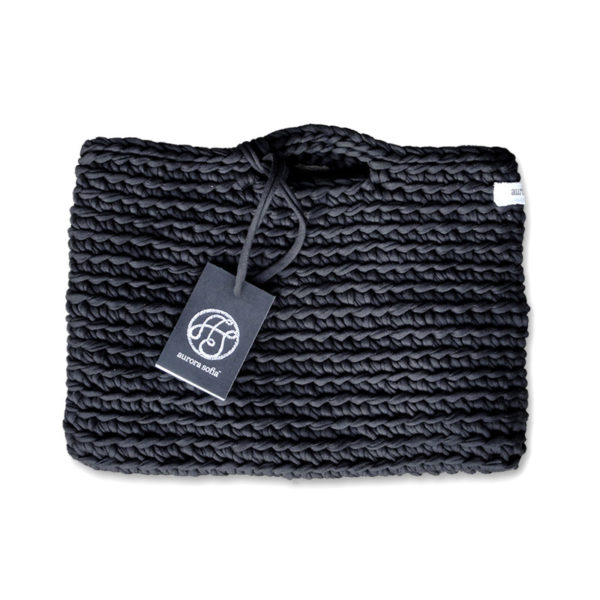 kaamos knit cotton bag made in finland