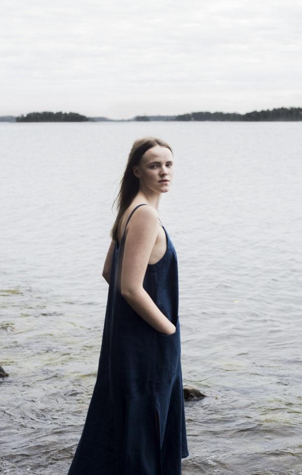 angervo dress nettle made in finland