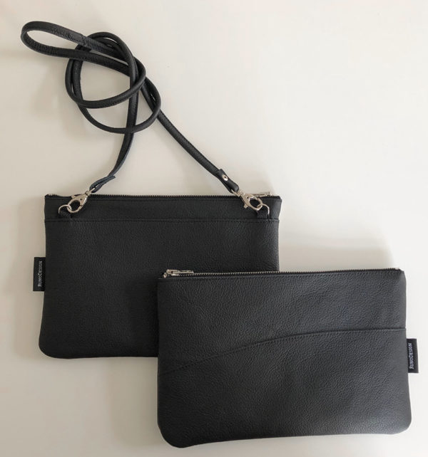 Tovi reclaimed leather bag made in finland