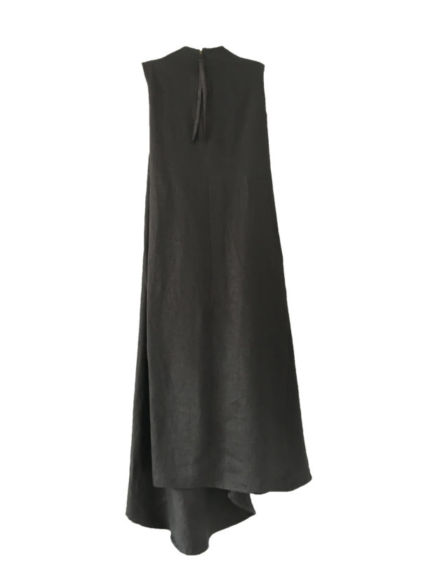 Draped-Dress cotton made in england
