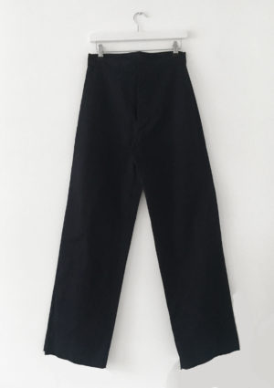 Buttonhole Waistband Tailored Trouser made in england