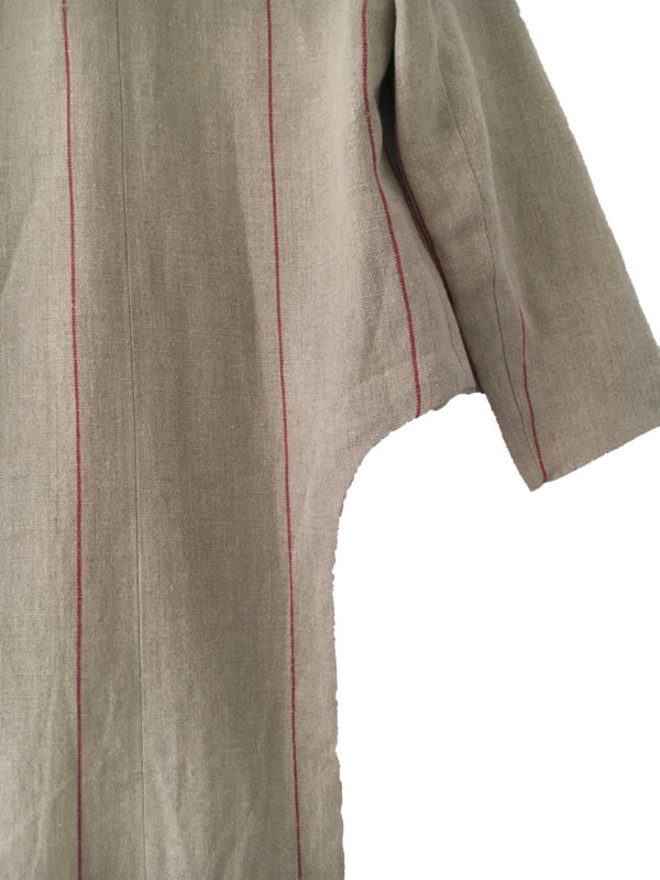 Cut out Jacket linen made in england