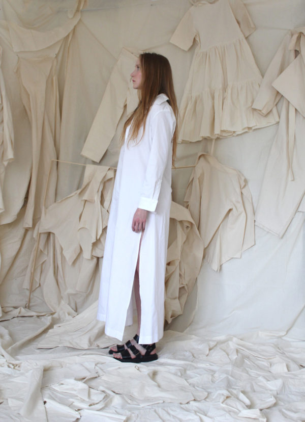 shirt-dress cotton made in england