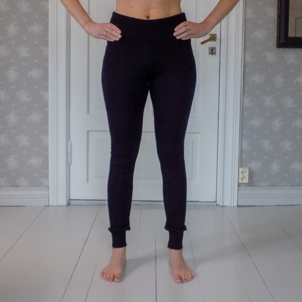 polku merino wool leggings, made in finland