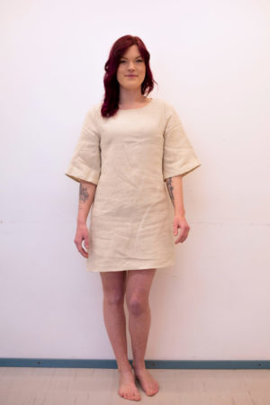 hemp dress, made in finland