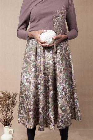 Eerika stone skirt