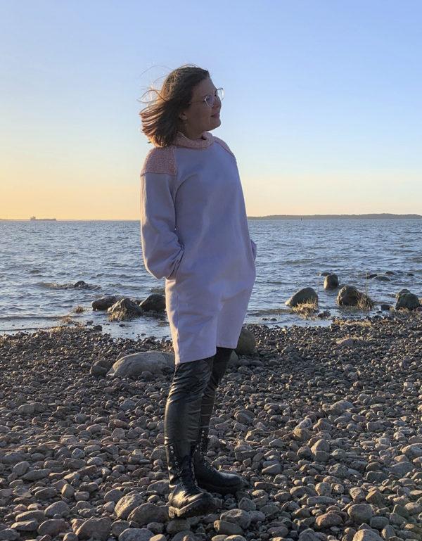 ahti dress organic cotton made in finland