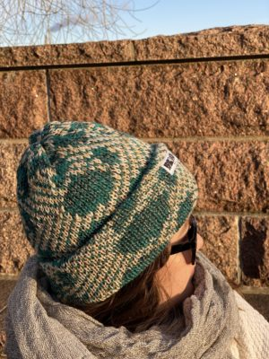 havu beanie wool knitted in fiskars finland