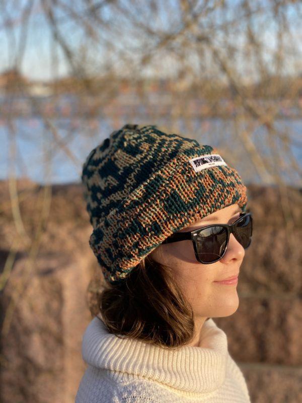 metsä beanie wool knitted in fiskars finland