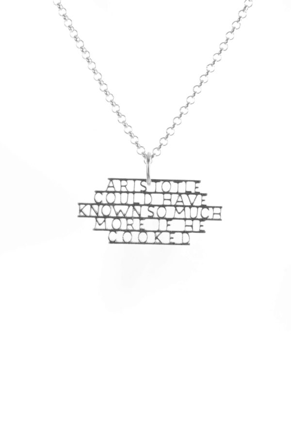 Aristotle could have known more necklace