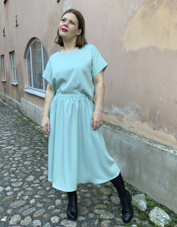 hulmuhelma skirt in mint