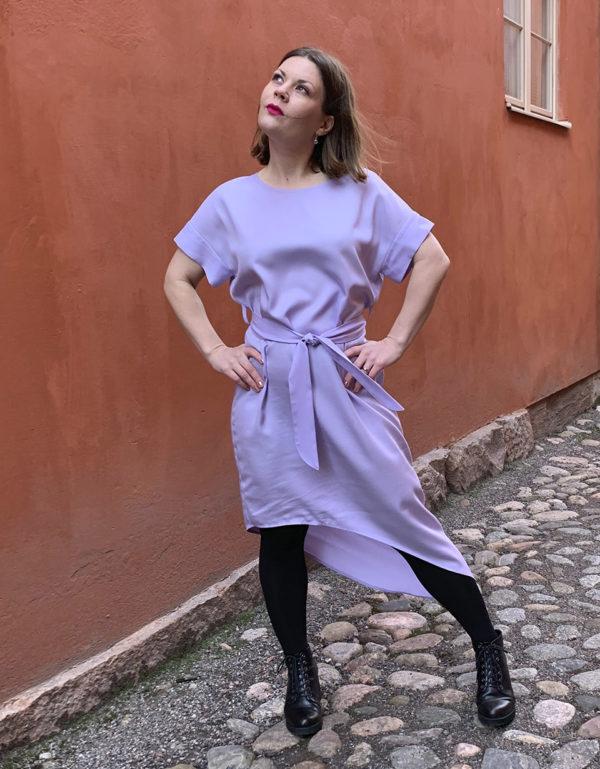 vellamo dress in lilac