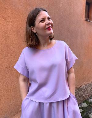 Vellamo Shirt in lilac