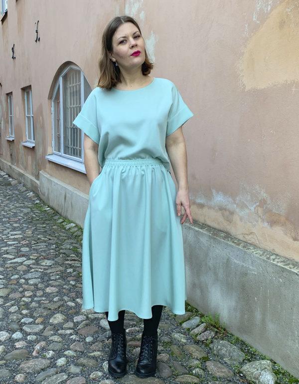 vellamo shirt in mint