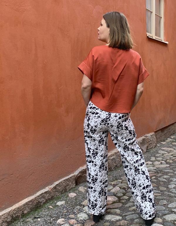 Vellamo Shirt in Rust