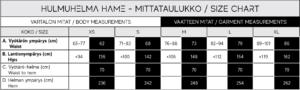 hulmuhelma size chart