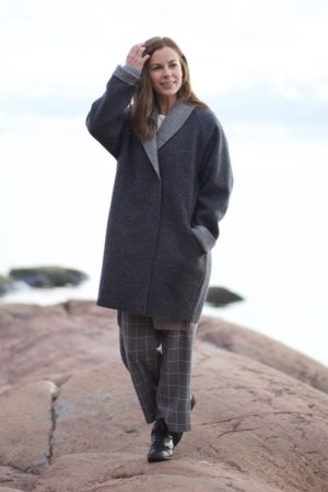louna wool coat