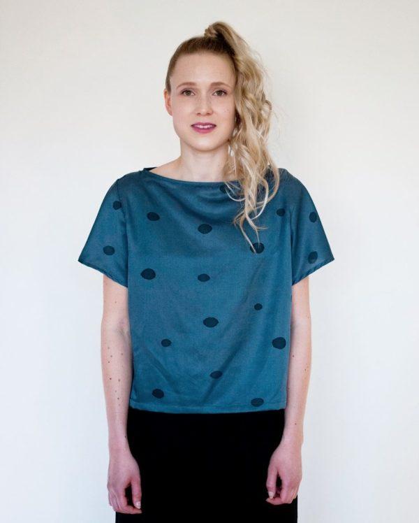 pompula shirt silk, hemp, cotton, made in helsinki