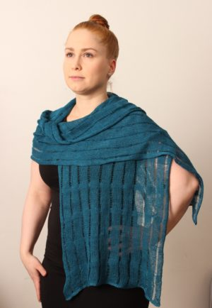 Terra Unisex Scarf linen, made in oulu