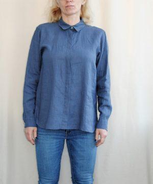 Swarowski linen shirt