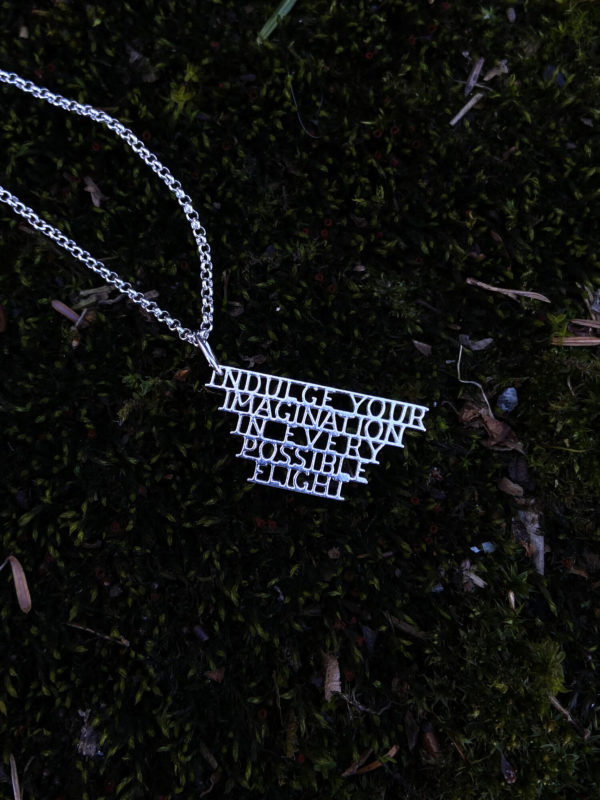 Indulge+your+imagination necklace