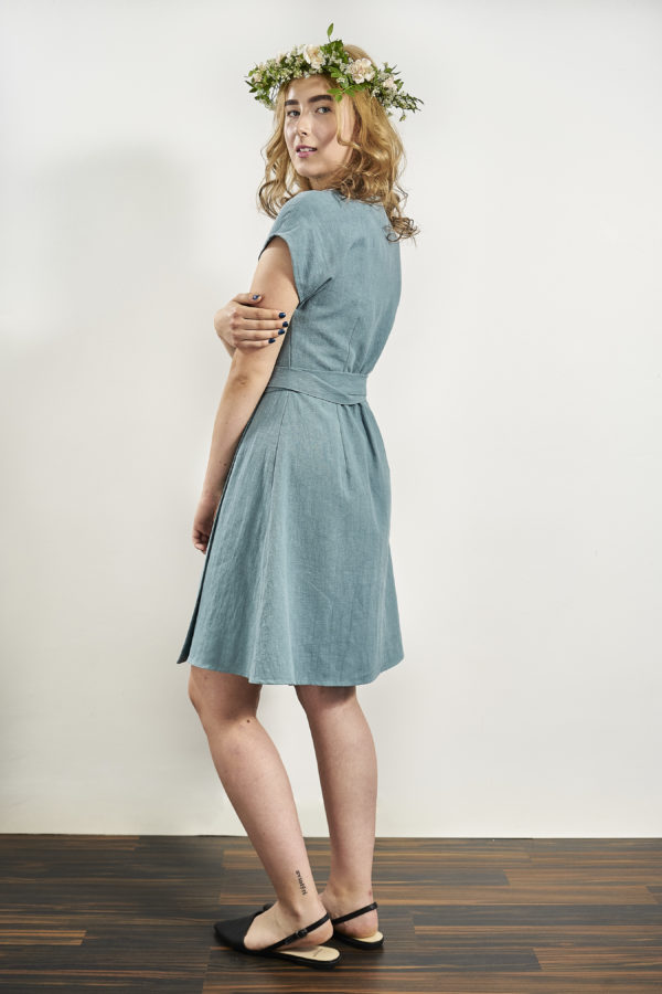 Laakso dress in blue