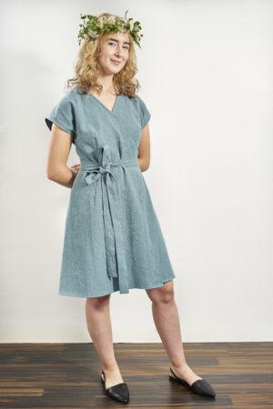 Laakso mekko sininen
