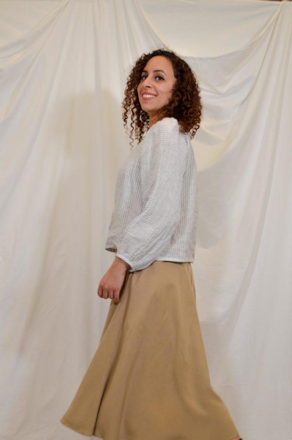 aurelia top sofia skirt beige kopio