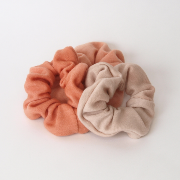 merino wool scrunchie