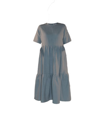 laura dress in cloud