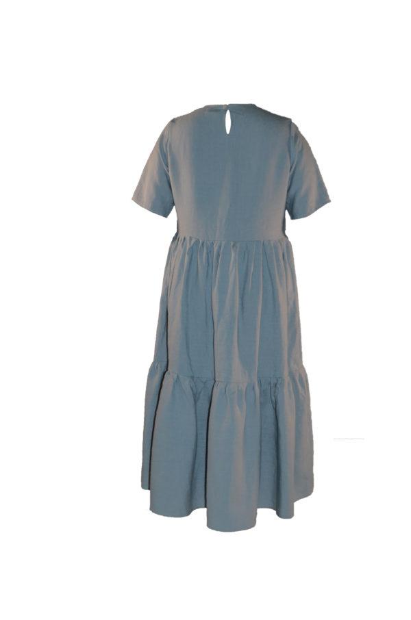 laura dress in cloud back