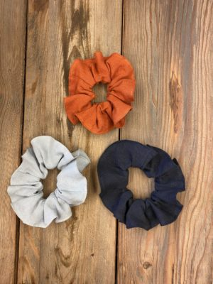 maker linen scrunchie