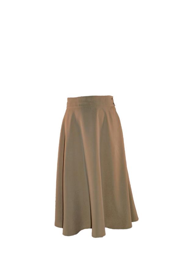 sofia skirt in beige