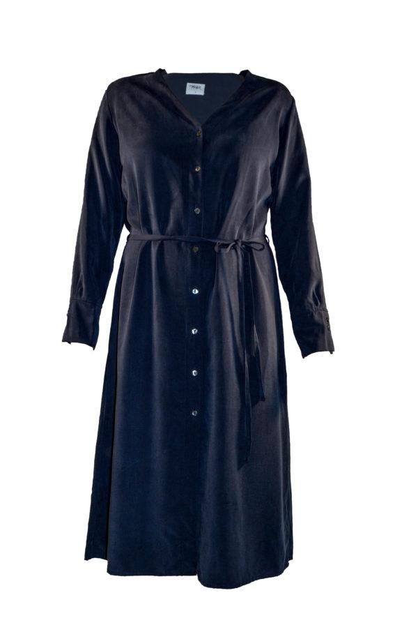 tuula dress in navy