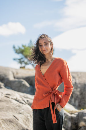 wrap top rust