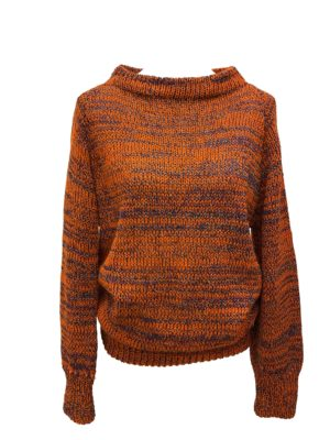 tangerine pullover unique