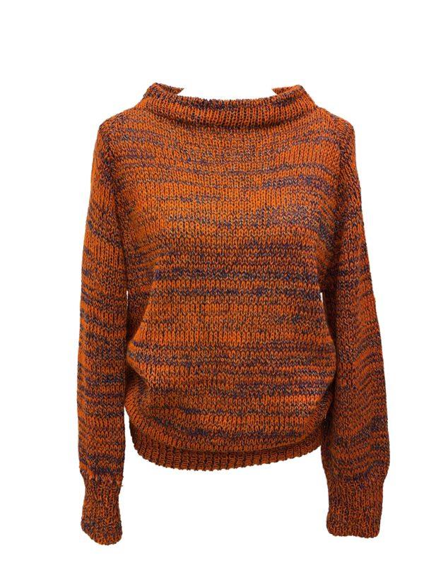 tangerine pullover unique