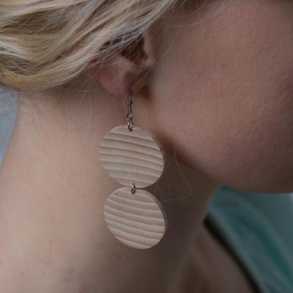 Lätkä double earrings