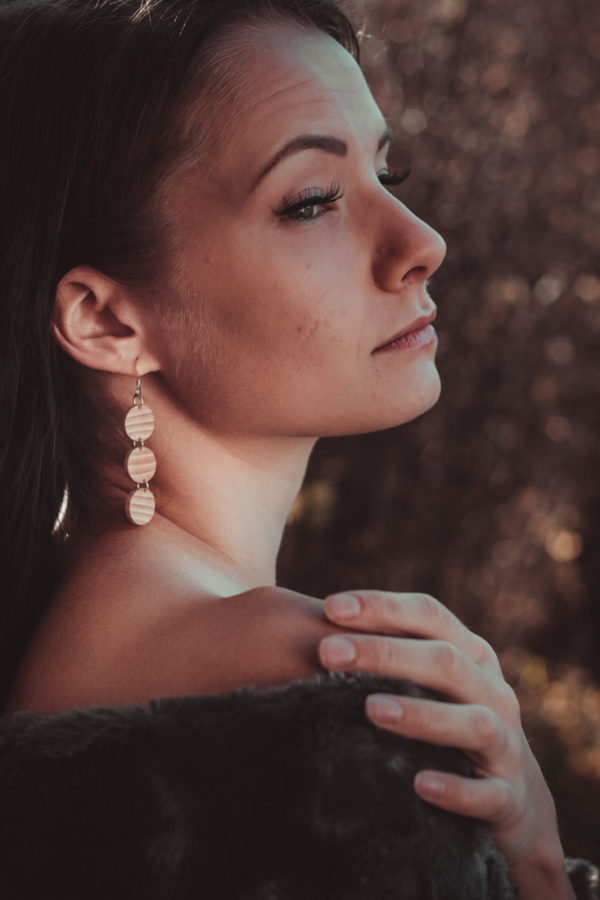 Saarni trio earrings
