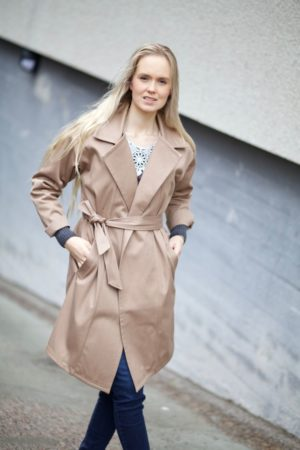 Sointu trench coat