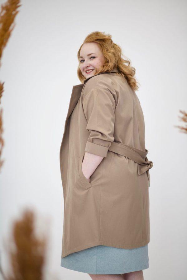 Sointu trench coat