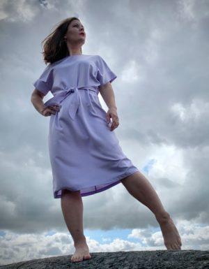 Ilmatar dress in lilac