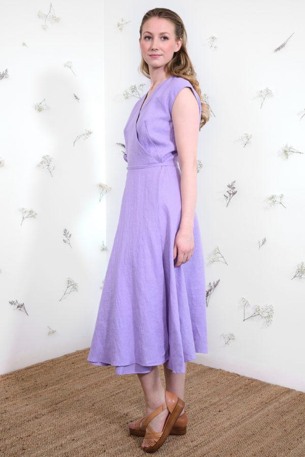 Laila Dress in Lavender