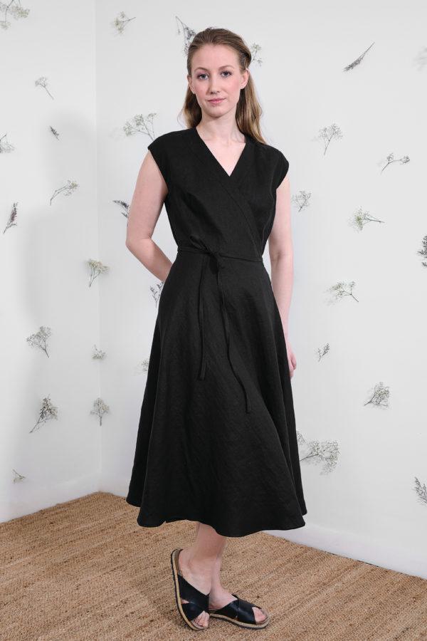 Laila Dress in Black