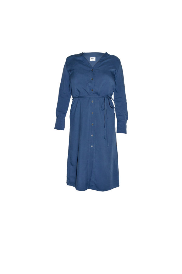 Tuula Shirtdress in Blue