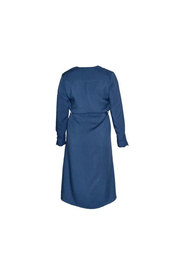 tuula shirtdress in royal blue